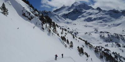 Ski de randonnée en vallée de Barèges